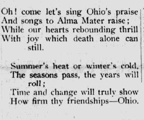 Songs of The Ohio State University - Carmen Ohio